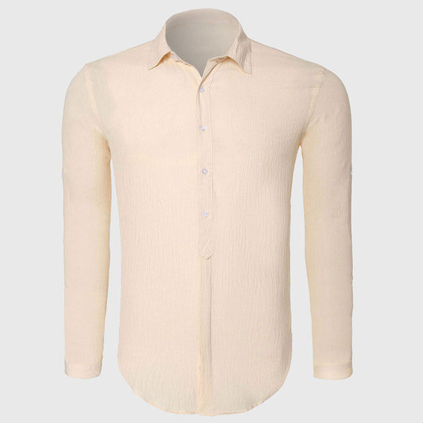 b17e98c800d ... Cotton Linen Shirts Man Summer White Shirt Social Gentleman Shirts Men  Ultra Thin Casual Shirt British ...