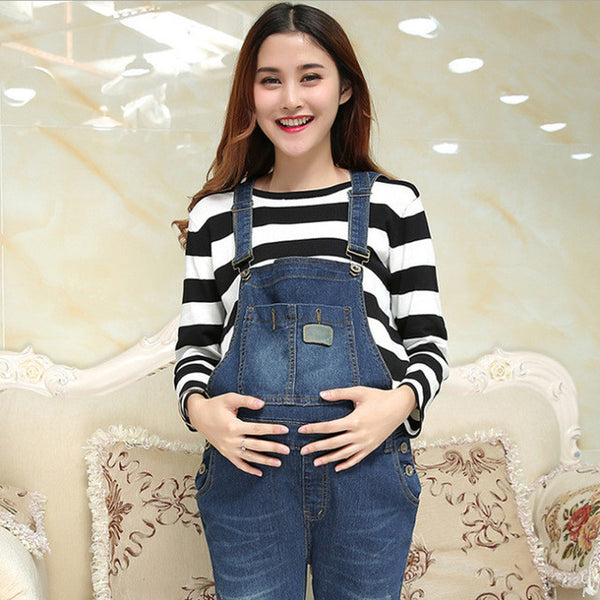 Femme Enceinte Jeans Pants Pants Maternity Women Jeans Maternity Pants Uniforms Maternity Maternity Pregnant Clothing hamile-Maternity-Enso Store-Blue-M-Enso Store