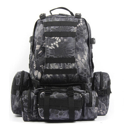 2c66d9e63c ... High Quality Large Capacity Travel Military Backpack Men  Multifunctional Men Backpack Rucksack Bag - EnsoStore ...