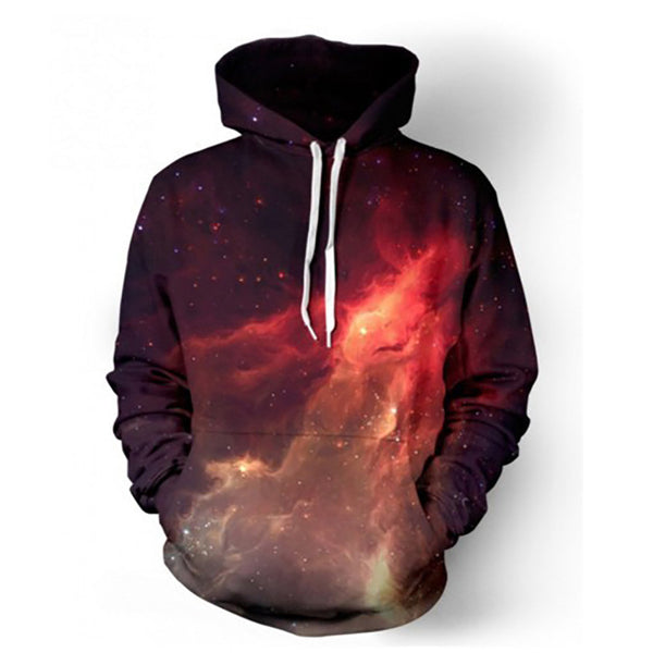 Hoodies Space Galaxy Sweatshirt 3D Hoodie New Coat Casual Streetwear Fashion Hat Sweatshirt Men Women Brand Clothing 2017-Men's Hoodies & Sweatshirts-Enso Store-color 1-M-Enso Store
