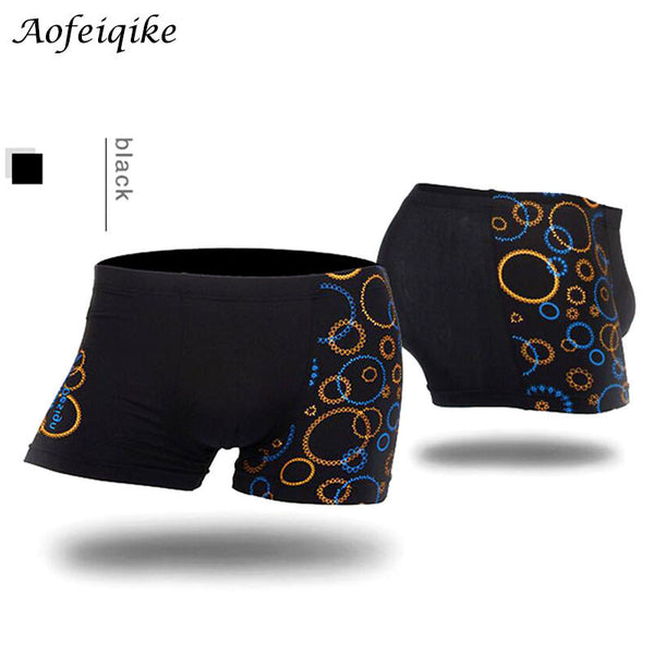 6aadbaadcf51 Hot Wholesale Men Boxers Shorts Male Sexy Modal Printing Boxers Men's  Underwear Boxeadores de los hombres Ropa interior