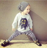 Infant Baby Clothing Sets Boy Long Sleeve T-shirt+Pant Kids Spring Autumn Outfits Set Toddler Monster Suits Baby Girls Clothes-Baby Boys Clothing-Enso Store-as pic show 2-9M-Enso Store