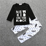 Infant Baby Clothing Sets Boy Long Sleeve T-shirt+Pant Kids Spring Autumn Outfits Set Toddler Monster Suits Baby Girls Clothes-Baby Boys Clothing-Enso Store-as pic show 3-9M-Enso Store