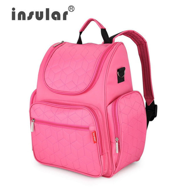 db3fad833c1591 ... Insular Elegant Baby Diaper Backpacks Nappy Bags Multifunctional  Changing Bags For Mommy Shipping Free-Baby