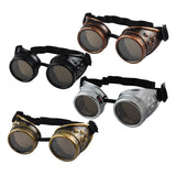 JECKSION Sunglasses Men Steampunk Goggles Glasses Welding Punk Gothic Glasses Cosplay Unisex Vintage Victorian 4Colors - EnsoStore