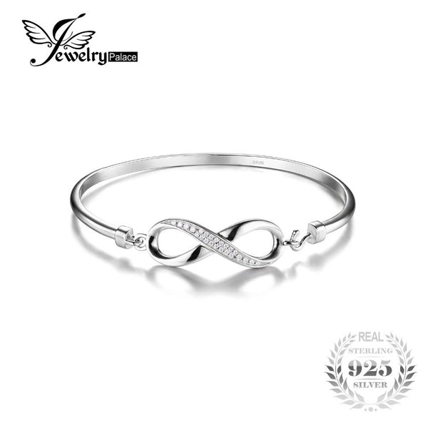 A01 Bangle With Ends In The Form Of A Rose Sterling Silver 925 Bracelet Jewelry & Watches