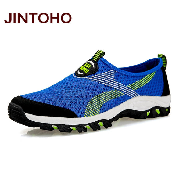 JINTOHO Women Running Shoes Summer Breathable Mesh Men Shoes Outdoor Athletic Men Sneakers Running Shoes For Men - EnsoStore
