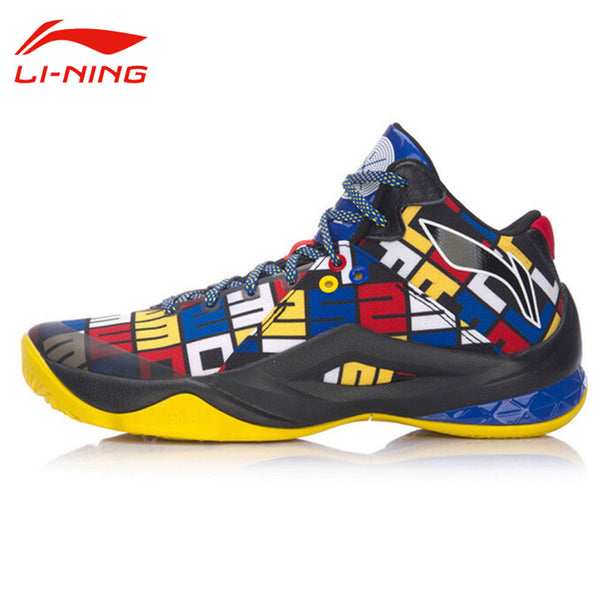 Li-Ning Men's Wade Series Professional Damping Basketball Shoes LINING CLOUD Anti-Slip Medium Cut Sneakers Sports Shoes ABAM013-Men's Basketball Shoes-Enso Store-ABAM013 Yellow 5G-11-Enso Store