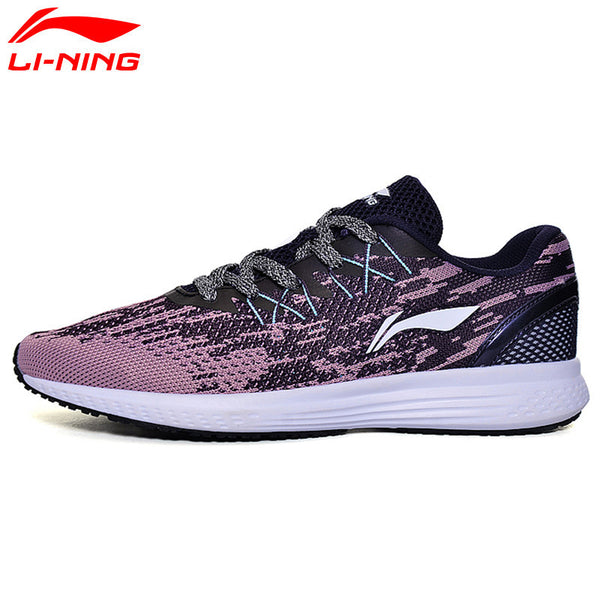 Li-Ning Women's 2017 Speed Star Cushion Running Shoes ARHM082-Women's Running Shoes-Enso Store-ARHM082 BlackWhite1H-5-Enso Store