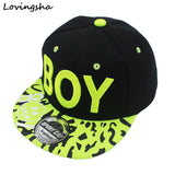 LOVINGSHA New Spring Summer Baby 3D Letter BOY cap boy Adjustable Baseball Cap 3-8 Years Kids Snapback Hip-Hop Hats Sun Hat C-12-Team Sports-Enso Store-Green letter-China-Enso Store
