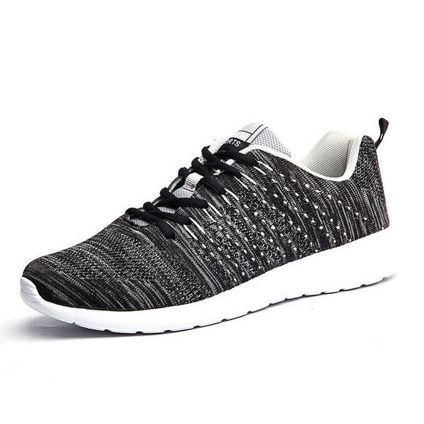 dc93afe96 Men Sneaker Running Shoes Lightweight Sneakers Breathable Mesh Sports Shoes  Jogging Footwear Walking Athletics Shoes -