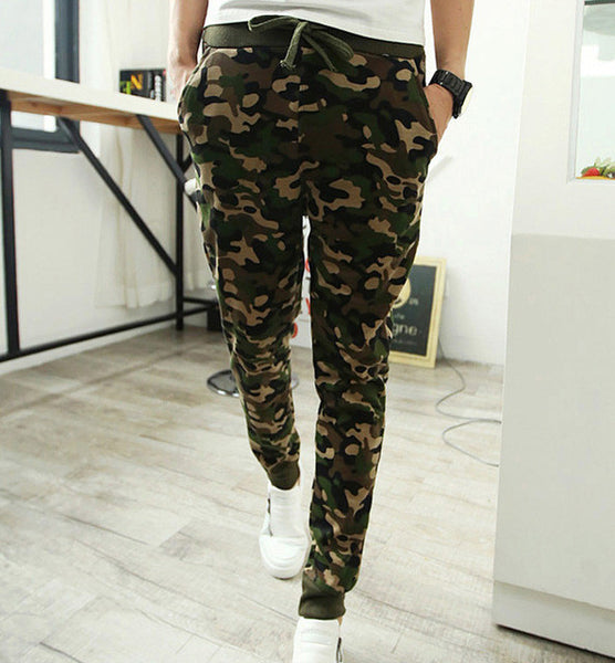 select for best shop for best select for best Mens Joggers Camouflage Men Pants Cool Army Skinny Casual Military Trouser  Hip Hop Fashion Style Sweatpants Camo Pants