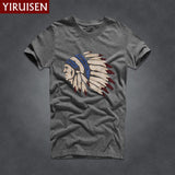Mens T Shirts Fashion 2016 Hollistic Men Short Sleeve AF Band T Shirt Men Casual 100% Cotton Tshirt Tops Camisetas Hombre Camisa-Men's Tops & Tees-Enso Store-6818-S-Enso Store