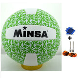 MINSA 5 Charging Soft Volleyball for Students and Adult Examination Indoor Training Ball-Team Sports-Enso Store-Green-Enso Store