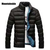 Mountainskin Winter Men Jacket 2017 Brand Casual Mens Jackets And Coats Thick Parka Men Outwear 4XL Jacket Male Clothing-Men's Jackets & Coats-Enso Store-Black-M-Enso Store