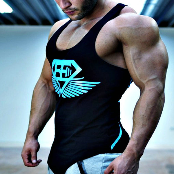 Musculation 2016 gyms vest bodybuilding clothing fitness men undershirt tank tops tops golds gyms undershirt Sportswear jerseys-Men's Tops & Tees-Enso Store-Color as shown-XL-Enso Store