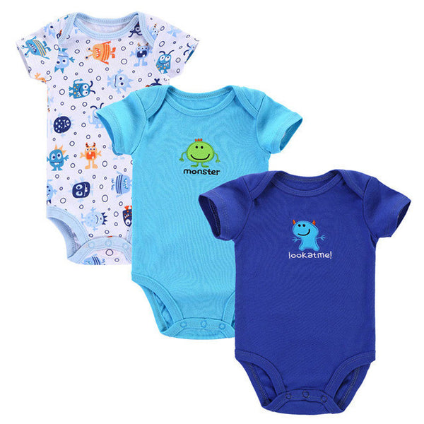 Near Cutest 3pcs Lot 2017 Baby Boys Girls Clothes Infant Clothes