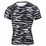 New 2016 Base Layer Camouflage T Shirt Fitness Tights Quick Dry Camo T Shirts Tops & Tees Crossfit Compression Shirt-Men's Tops & Tees-Enso Store-TD42-Asian S-Enso Store