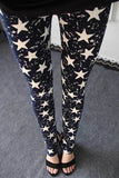 New 2016 Spring Summer Womens Fashion Black Milk Thin Stretch leggings Colored Stars Graffiti Slim Skinny Leggings Pants Female-Women's Bottoms-Enso Store-Graffiti stars-One Size-Enso Store
