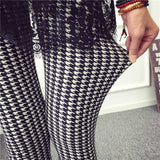 New 2016 Spring Summer Womens Fashion Black Milk Thin Stretch leggings Colored Stars Graffiti Slim Skinny Leggings Pants Female-Women's Bottoms-Enso Store-Swallow Gird-One Size-Enso Store