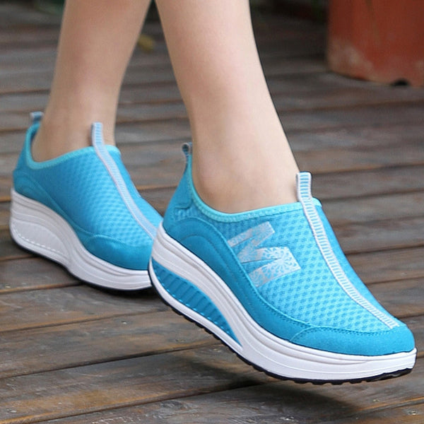 New arrival 2017 summer sports shoes women sneakers network mesh women running shoes breathable gauze shoes-Women's Running Shoes-Enso Store-as picture like 2-4.5-Enso Store