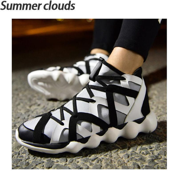 New Hip hop Men Casual Shoes High quality Fashion Breathable shoes Men's  Casual British Style zapatos hombre mens trainers