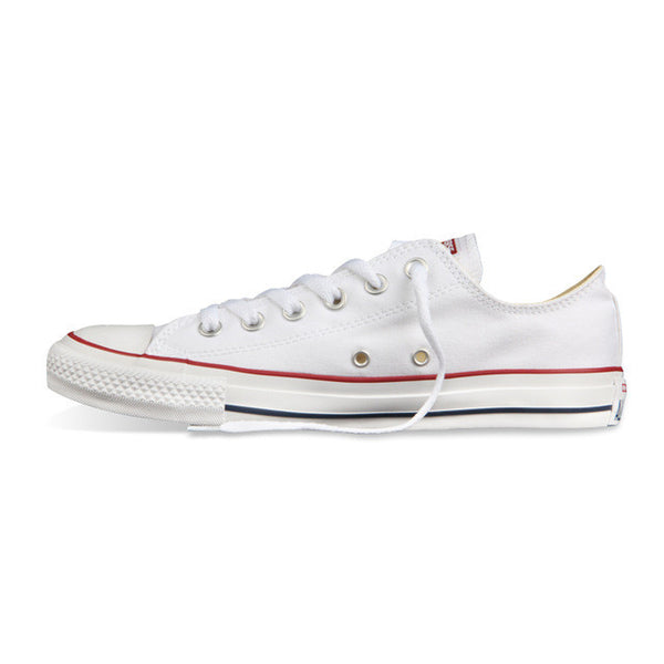 Original new Converse all star canvas shoes men's sneakers for men low classic Skateboarding Shoes black color-Sneakers-Enso Store-white low 101000-4-Enso Store