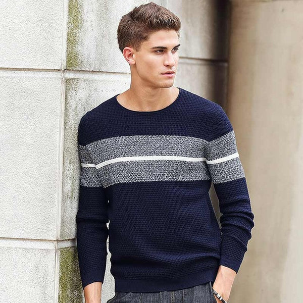 711dd930c2 Pioneer Camp 2017 New Spring Autumn Brand clothing Men Sweaters Pullovers  Knitting fashion Designer Casual Man