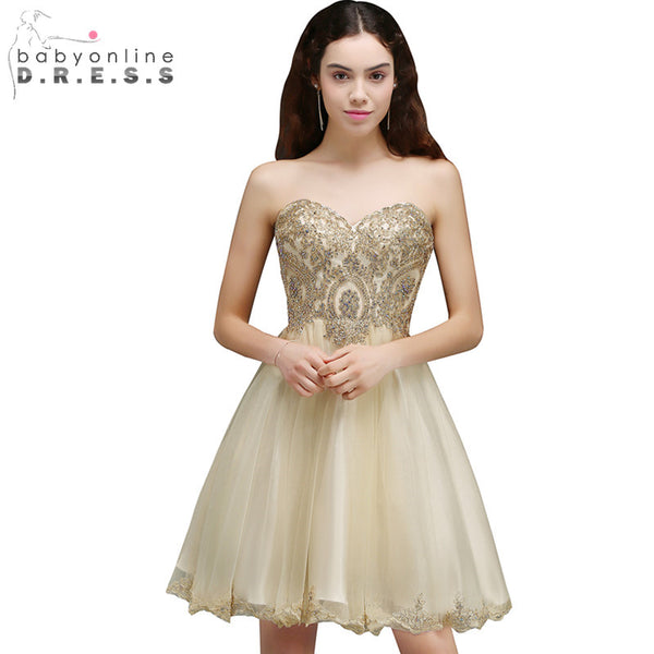 3d9fb91a7 Cheap Graduation Dress Sexy Backless Chiffon Lace Homecoming Dresses 2017  Short 8th Grade Prom Dresses Vestido
