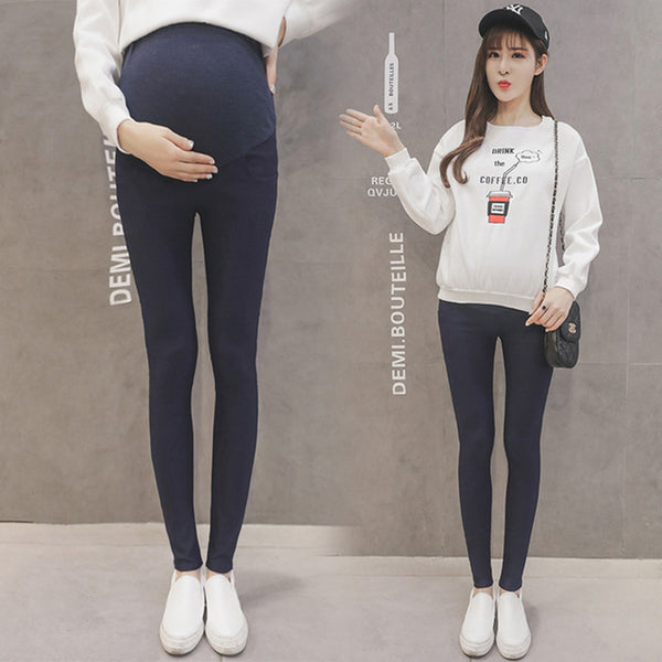 fbc754aec712e Maternity Pencil Pants for pregnant Skinny leg pregnancy clothes maternity  clothes clothing leggings for pregnant winter