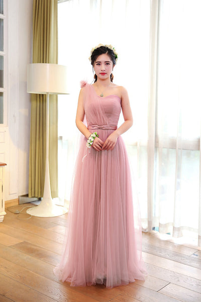 0636017c0511a ... Free shipping 2018 New Dark pink long bridesmaid dresses Dress for  wedding party Have champagne colour ...