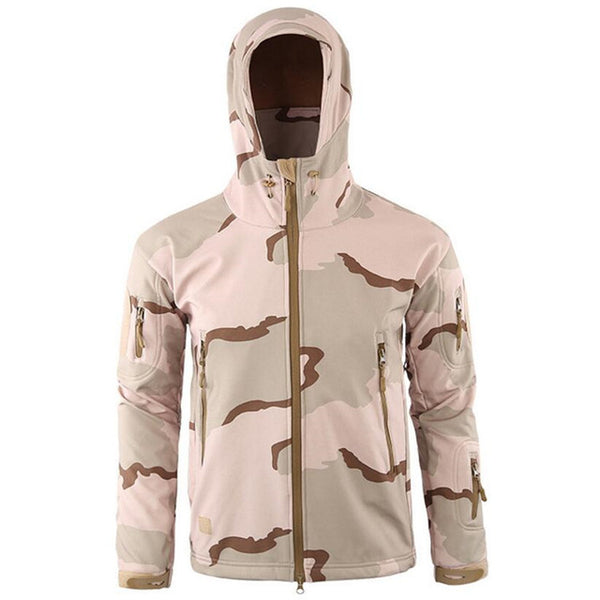 2018 Army Camouflage Coat Military Jacket Waterproof Windbreaker Raincoat Hunt tactical Clothes Men Outerwear Jackets And Coats
