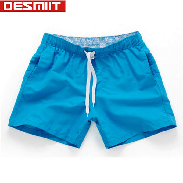 Quick Drying Shorts Men Swimwear Men's Surf Swim Boxer Trunks Beach Leisure Sport Pocket Solid Swimsuit Briefs zwembroek man XXL-Men's Swimwear-Enso Store-Blue-S-Enso Store