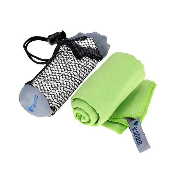 Quick Drying Swimming Towel Microfiber Antibacterial Ultralight Hand Face Towel for-Swimming-Enso Store-Green-Enso Store