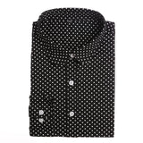 Red Polka Dot Shirts Women Cotton Blouses Long Sleeve Ladies Tops Collar Shirt Female Plus Size 5XL Blusas Clothing For Women-Women's Blouses-Enso Store-Bigblack-4XL-Enso Store