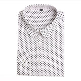 Red Polka Dot Shirts Women Cotton Blouses Long Sleeve Ladies Tops Collar Shirt Female Plus Size 5XL Blusas Clothing For Women-Women's Blouses-Enso Store-White-4XL-Enso Store