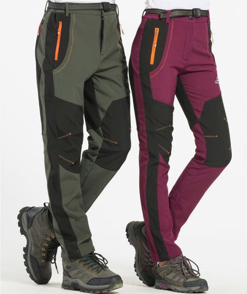S M L XL XXL 3XL 4XL Plus Size Men Winter Pants Casual Fashion Pants Fleece Trousers Color Army Green/Gray /Orange/Wine Red-Men's Pants-Enso Store-men gray-S-Enso Store