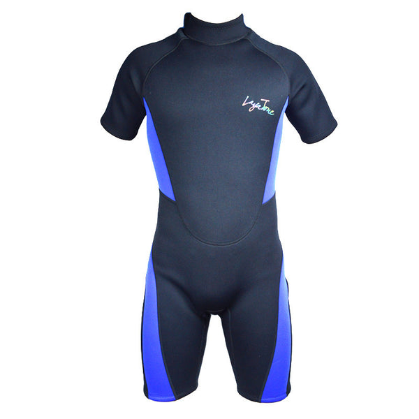 Sports Free Diving Wetsuit 3mm Neoprene Short Pants Plus-size Sleeves Swimwear Diving suit surf New Layatone B1619 - EnsoStore