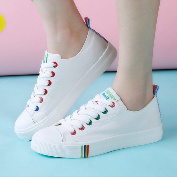 64ec59fa397 Spring and Autumn Breathable Canvas Shoes Women Men Lovers Shoes Fashion  shoes for Women Brand Shoes renben