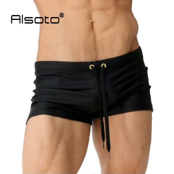 Summer Style Men Swimsuit Quick Dry Swimwear Breathable Surf Beach Boxer Swimming Trunks Sungas De Praia Homens Maillot De Bain - EnsoStore