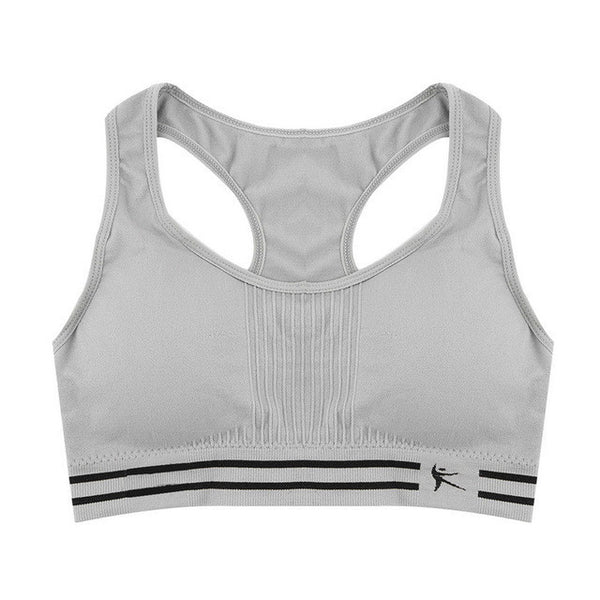 10cc75bfd0660 ... Summer Style Women Cotton Stretch Athletic Vest Gym Fitness Sports Bra  no rims Full Cup padded