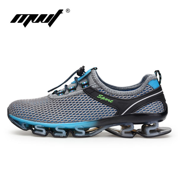 Super Cool breathable running shoes men sneakers bounce summer outdoor sport shoes Professional Training shoes plus size-Men's Running Shoes-Enso Store-sapphireS-7-Enso Store
