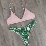 Swimwear Bikini Push Up Bikini Brazilian Sexy Bandage Beach Swimwear Ladies Swimsuit Bathing Suit Maillot De Bain Femme H020 - EnsoStore