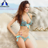 TOPMELON Bikini Set Swimsuit T9F3-Women's Swimwear-Enso Store-T93 blue Dot-S-Enso Store
