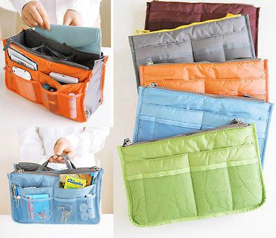 Travel Insert Organiser Large liner Sundries Storage Bag Travel Accessory - EnsoStore
