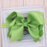 TWDVS Newborn Headwear Big Bows  Flower Headband  Hair Elastic Bow Headbands Hair band kids Children Hair Accessories W--017 - EnsoStore