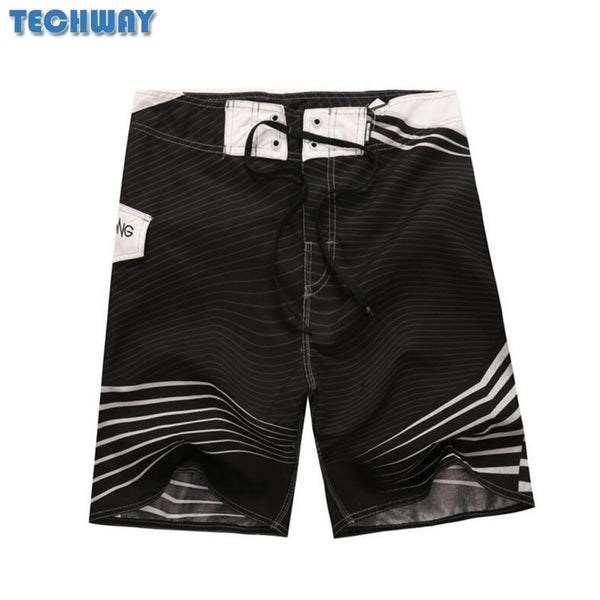 Whosale 2017 New Hot Mens Shorts Surf Board Shorts Summer Sport Beach Homme Bermuda Short Pants Quick Dry Silver Boardshorts - EnsoStore