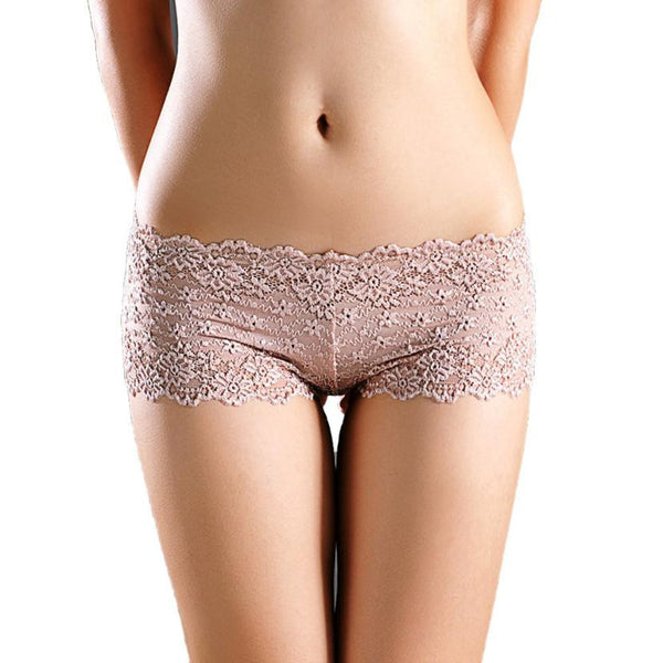 Women Lace Panties Lingerie Cotton Underwear Briefs Knickers 8 Colors Fashion Briefs Designed-Women's Accessories-Enso Store-Beige-One Size-Enso Store
