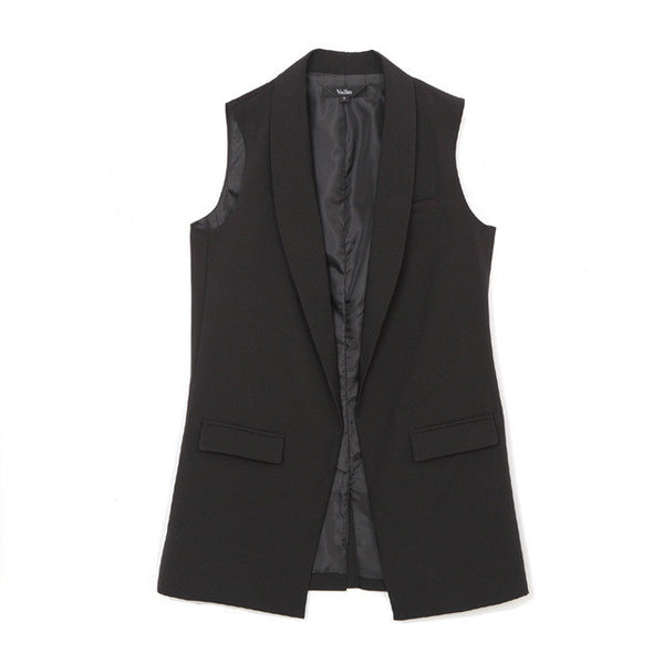 Women's Elegant Sleeveless Vests MJ73-Women's Jackets & Coats-Enso Store-Black-L-China-Enso Store