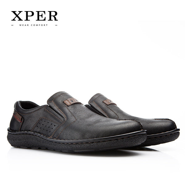 XPER Brands 2017 NEW Men Loafers Spring Summer Fashion Cool Men's Flats Shoes Comfortable Low Man Casual Shoes #YMD86872-Men's Casual Shoes-Enso Store-YMD86872BL-8-Enso Store